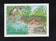Grenada 1990 West Indies Mantee Water Possum Minisheet Mnh Sc 1829 Sg Ms2108
