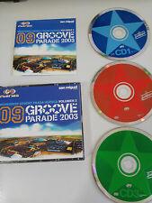 GROOVE PARADE MONEGROS DESERT FRAGA HUESCA VOL 2 - 3 X CD 2003 FAT BOX