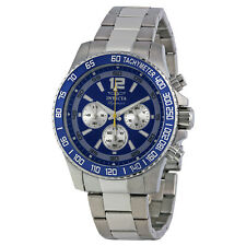 Invicta Signature II Chronograph Blue Dial Mens Watch 7407