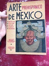 1946 Book: ARTE PREHISPANICO de MEXICO