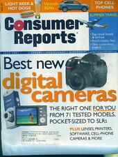 2007 Consumer Reports: Best New Digital Cameras For You
