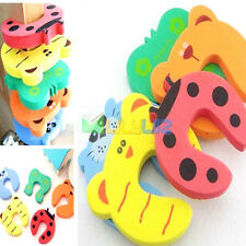 3pcs CUTE Door Stopper Jammer Anti Finger Pinch Lock kids Safety Guard Protector