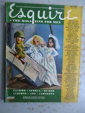 Esquire Magazine - June 1944, VARGA Pinup, WWII Prints