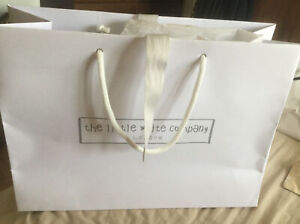 """The Little White Company London Gift Bag  Tissue Paper 13.5"""" X 9.5"""""""
