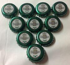 10x Kronkorken Grün Warsteiner Herb 1753 Warsteiner Brauerei - Crown/Bottle caps