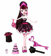 Monster High Draculaura SWEET 1600 Sammlerpuppe SELTEN W9189