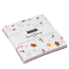 "Moda Christmas Good Tidings Charm Pack Quilt 42 Fabric 5"" Sqs NEW!"
