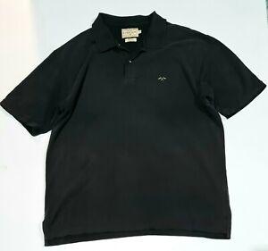 R.L Logan And Sons Logan Men's Black Polo Shirt - Size L %100 Cotton