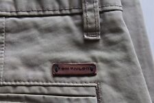 TOM TAILOR Hose Mod. Marvin Slim Chinohose hellbraun Gr. 32 / 34