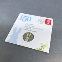 Beatrix Potter Peter Rabbit 50p, Coloured Decal and Stamp Pack