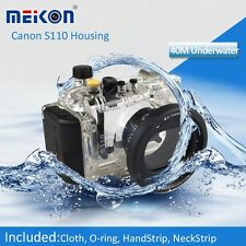 Underwater Waterproof Housing Case Cover Bag for Canon Powershot S110