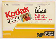 Kodak Dp-15 Prepaid Processing Mailer for Disc Film - Collection/Display Only
