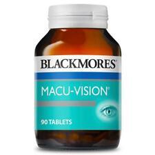 BLACKMORES MACU-VISION MACULAR EYE HEALTH 90 TABLETS RETINA VITAMIN MACUVISION