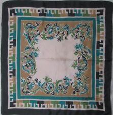 -Joli Foulard TED LAPIDUS  100% soie  TBEG  vintage Scarf 65 x 69 cm