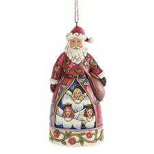 Jim Shore Heartwood Creek Hark The Herald SANTA Christmas  Hanging Ornament
