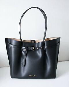 Michael Kors Bag Shopper Emilia LG Ew Tote Bag Black