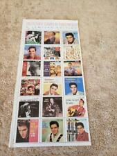 RARE COLLECTIBLE STAMPS ~ ELVIS PRESLEY'S 1950'S RCA RECORDS LABEL COVERS ~ 1992