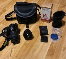 Nikon D3200 Digital SLR Camera w/18-55mm Lens, 35mm Lens, Camera Kit