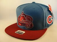 Colorado Avalanche NHL Reebok Snapback Hat Cap Blue Burgundy