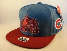 Colorado Avalanche NHL Reebok Snapback Hat Cap Blue Burgundy