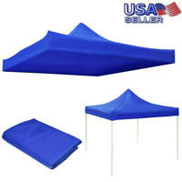 10x10ft Canopy Top Replacement Patio Gazebo Outdoor Sunshade Tent Cover US
