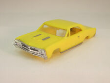 MODEL MOTORING YELLOW '67 CHEVELLE SHELL ~ NEW ~ FITS AURORA TJET