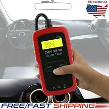 Automotive Universal OBD2 Scanner Diagnostic Tool Check Engine Fault Code Reader
