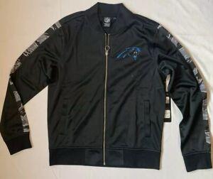 Brand New NFL Team Apparel Carolina Panthers Women's Full Zip Jacket.