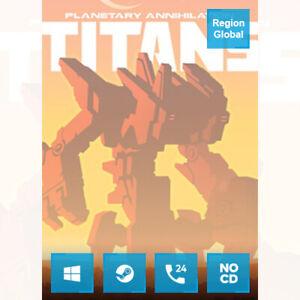 Planetary Annihilation TITANS for PC Game Steam Key Region Free