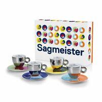 Illy Art Collection 23389 Stefan Sagmeister 4 en Forme de Petites Tasses De