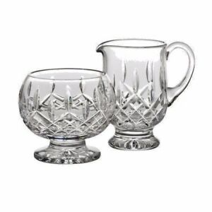 Waterford Lismore Footed Sugar & Creamer # 9623180004 Brand New