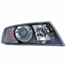 Skoda Octavia 2004-2009 Black Headlight Headlamp Drivers Side Right O/S