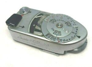[ EXC+ 5 Metro Trabajo] Leica Meter MR-4 MR4 Plata Para M2 M3 M4-2 M4-P Japón