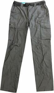 Columbia Men's Grey Kestrel Silver Ridge Trail Cargo Pants