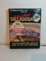 TALLADEGA Richard Petty's Atari & Commodore 64/128 Diskette Box ONLY 1984