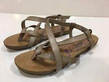 Blowfish Malibu Women's Strappy Buckle Sandal Shoes Size 6.5 M