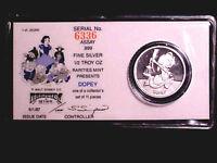 Disney DOPEY 1/2 Oz .999 Fine Silver Round Coin ~ PART OF A SNOW WHlTE SET