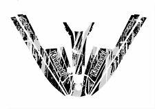 kawasaki 550 440 400 js sx jet ski wrap graphics pwc stand up jetski decal grey