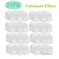24PCS Charcoal Water Filter Replacement for Cuisinart Coffee Makers DCC-RWF