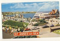 Old Postcard (1975) - St Annes-on-Sea Various Views) - Posted 2470