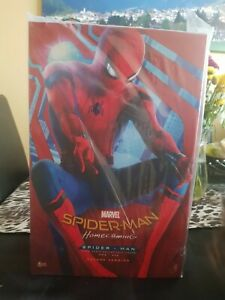 Hot Toys Spiderman Tech Suit  Deluxe spiderman homecoming