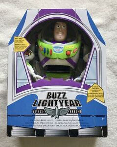 "Disney Store Toy Story 4 Interactive Talking Buzz Lightyear 12""  New Sealed"