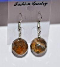 Ohrringe - Hänger  mit Perlen  - OHS  Nr. 14