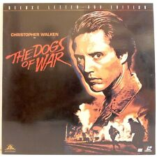 THE DOGS OF WAR Laserdisc Deluxe Letter Box Edition NTSC