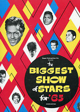 1965 Biggest Show of Stars concert program Chuck Berry Joe Tex Little Anthony