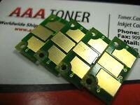 4 x Toner Chip Refill for Konica Minolta Bizhub C451, C550, C650 (TN411/TN611)