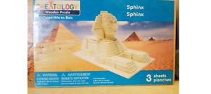 NEW NIP Creatology Sphinx Wooden Puzzle Kit Construction Kit FS