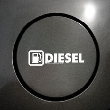 2x DIESEL FUEL Medium Size Reminder Car, Van, Taxi, Coach Vinyl Stickers