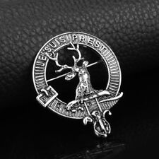 Outlander Vintage Jewelry Scottish Kilt Silver Color Deer brooch Gift UK