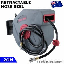 Air Hose Reel 20M Retractable Auto Rewind Compressor Industrial Grade Tool